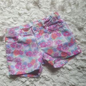 The Children's Place Floral Girl Shorts
